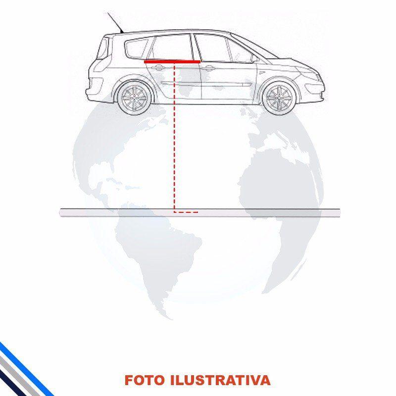 Pestana Interna Traseira Direita Ford Focus 2000-2008