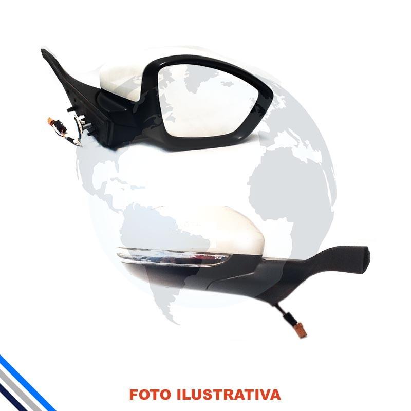 Retrovisor Externo Direito Peugeot 208 2013-2016
