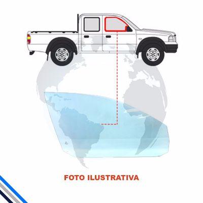 VIDRO PORTA DIANTEIRA DIREITA FORD RANGER 2012-2018 - PILKINGTON