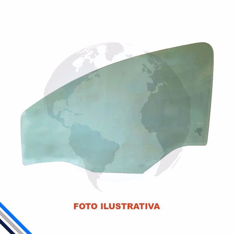 Vidro Porta Dianteira Esquerda Fiat Uno 1985-2014  tri