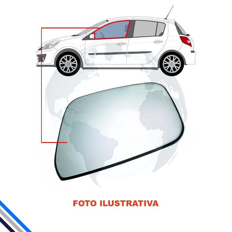 Vidro Porta Dianteira Esquerda Renault Clio 2pts 2000-2016