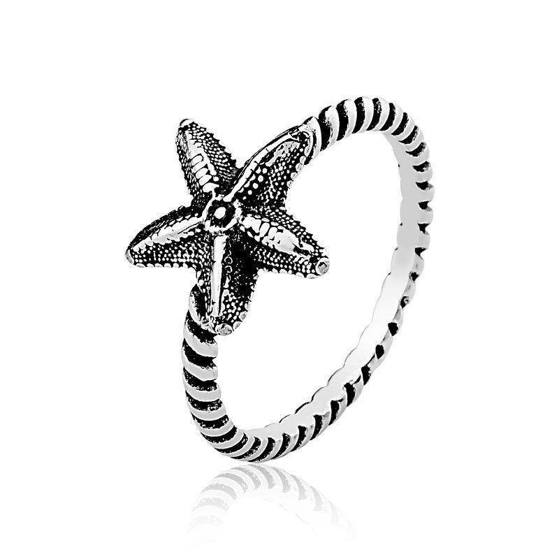 Anel Estrela do Mar