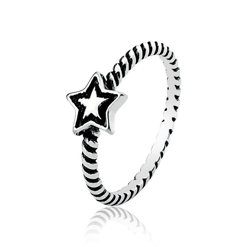 Anel Estrela Firisado
