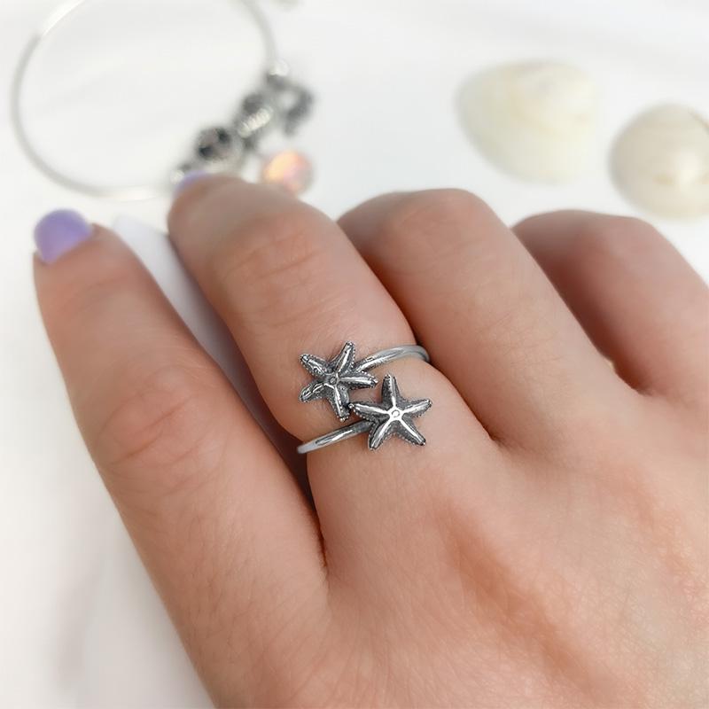 Anel Estrelas do Mar - Sereísmo