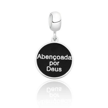 Berloque Medalha Abençoada Por Deus