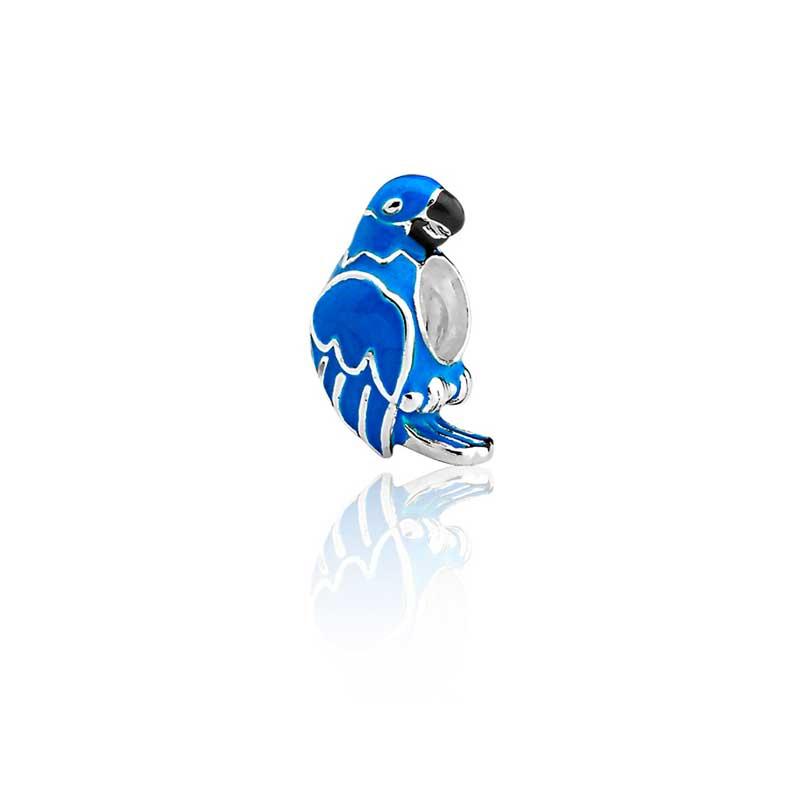 Berloque Arara Azul
