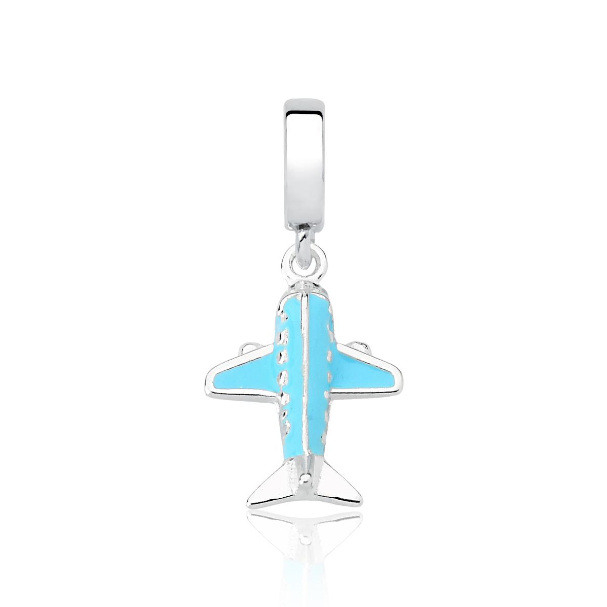 Berloque Avião Azul