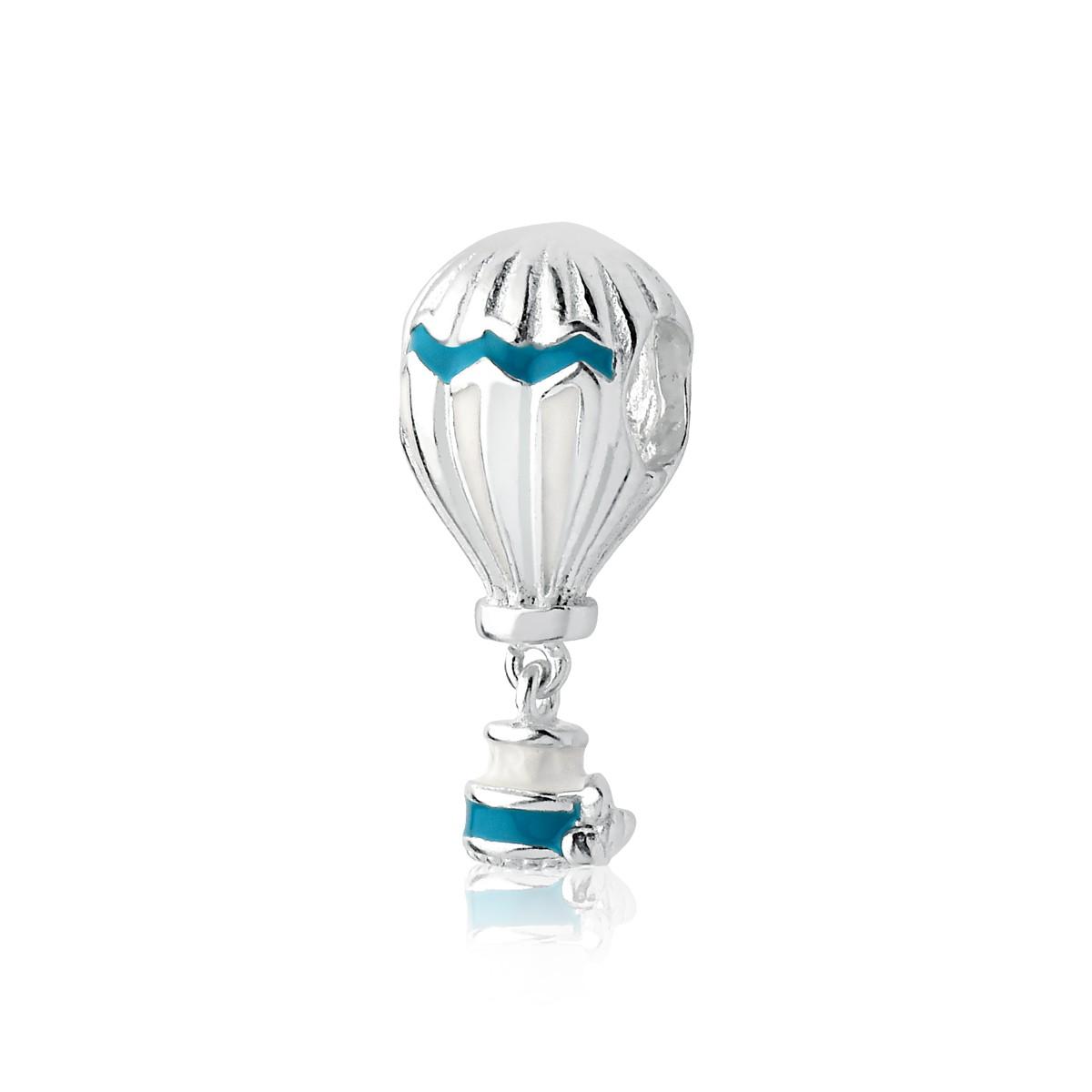 Berloque Balão Listrado Verde