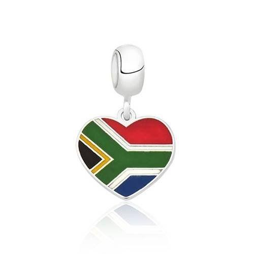Berloque Bandeira África do Sul