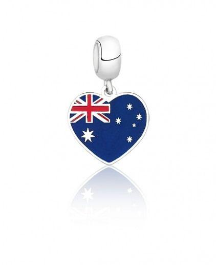 Berloque Bandeira Austrália