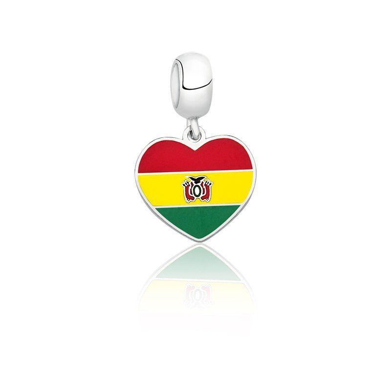 Berloque Bandeira Bolivia