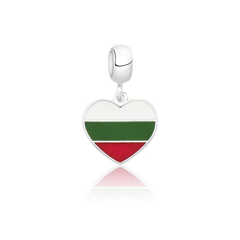 Berloque Bandeira Bulgária