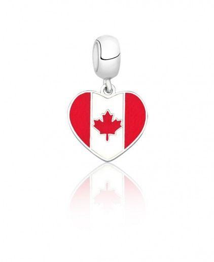 Berloque Bandeira Canadá