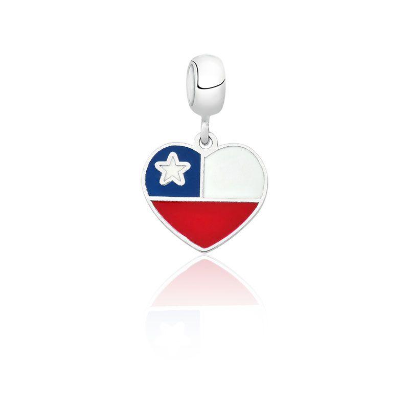 Berloque Bandeira Chile