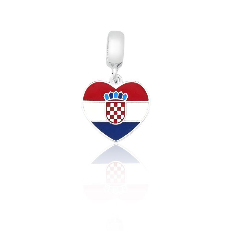 Berloque Bandeira Croácia