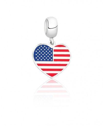 Berloque Bandeira EUA