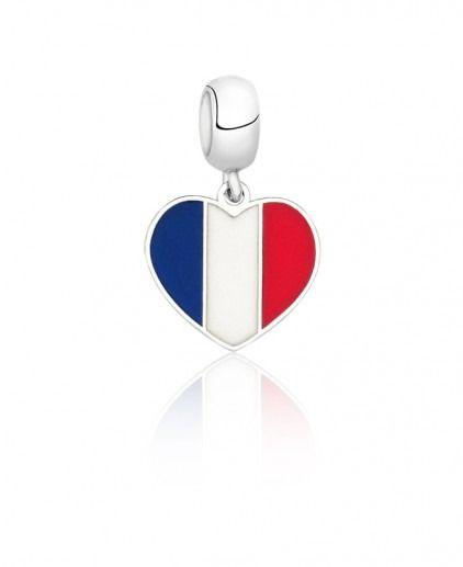 Berloque Bandeira França