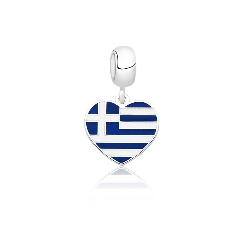 Berloque Bandeira Grécia