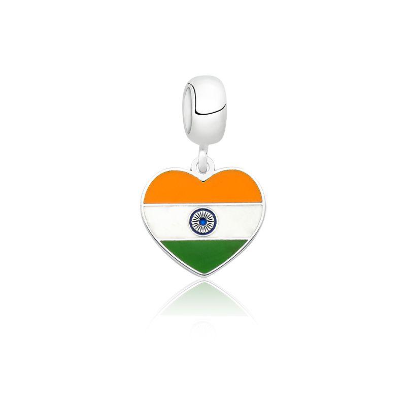 Berloque Bandeira Índia