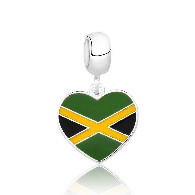 Berloque Bandeira Jamaica