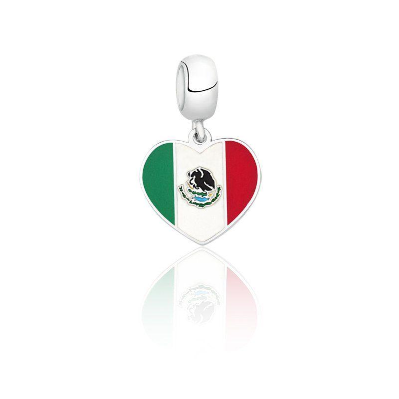 Berloque Bandeira México