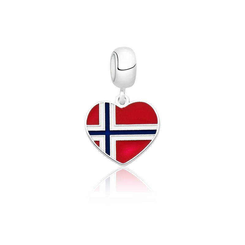 Berloque Bandeira Noruega