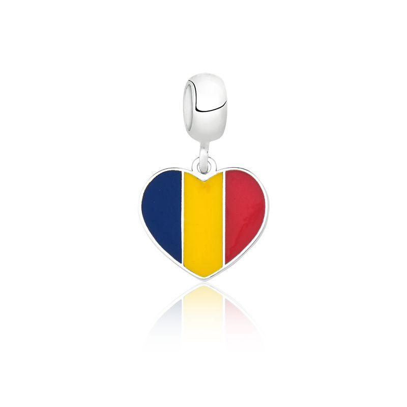 Berloque Bandeira Romênia