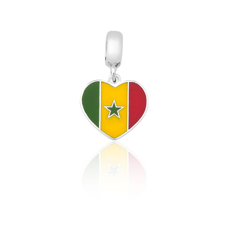 Berloque Bandeira Senegal