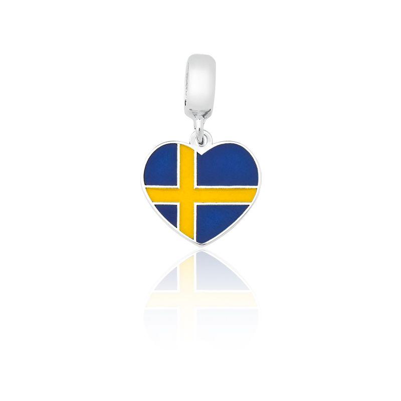 Berloque Bandeira Suécia