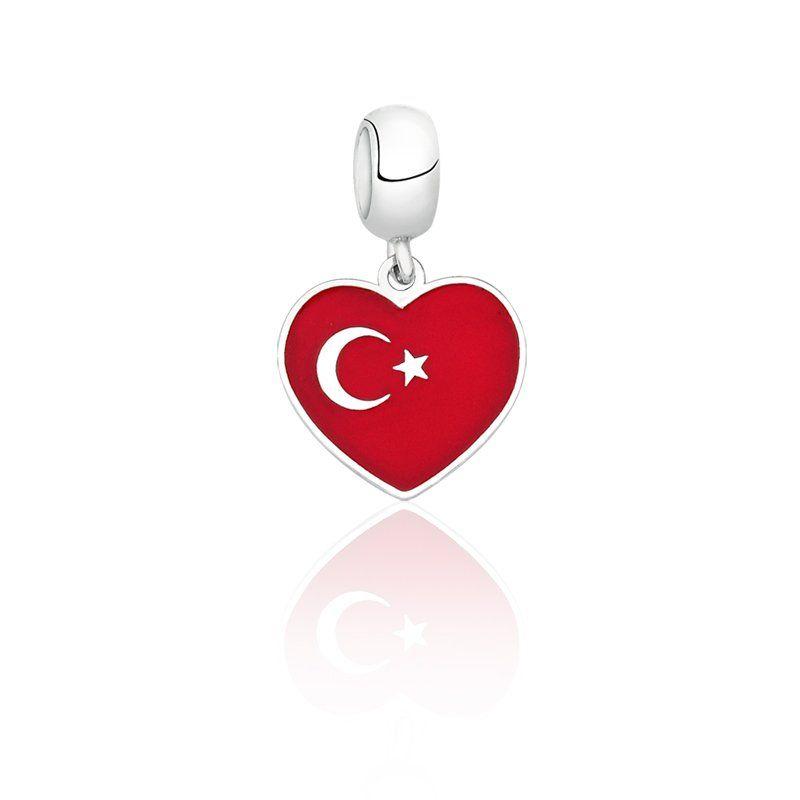 Berloque Bandeira Turquia