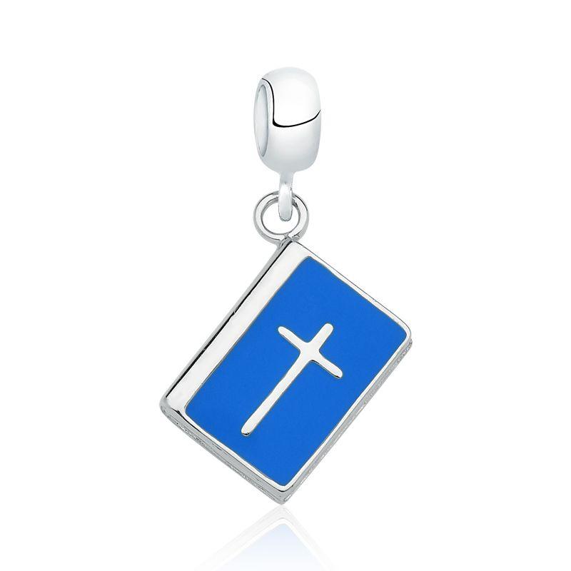 Berloque Bíblia Azul