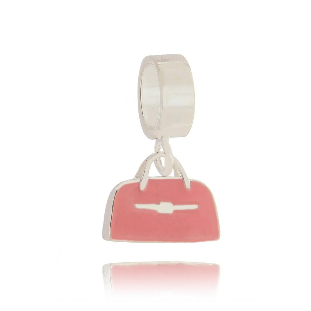 Berloque Bolsa Rosa