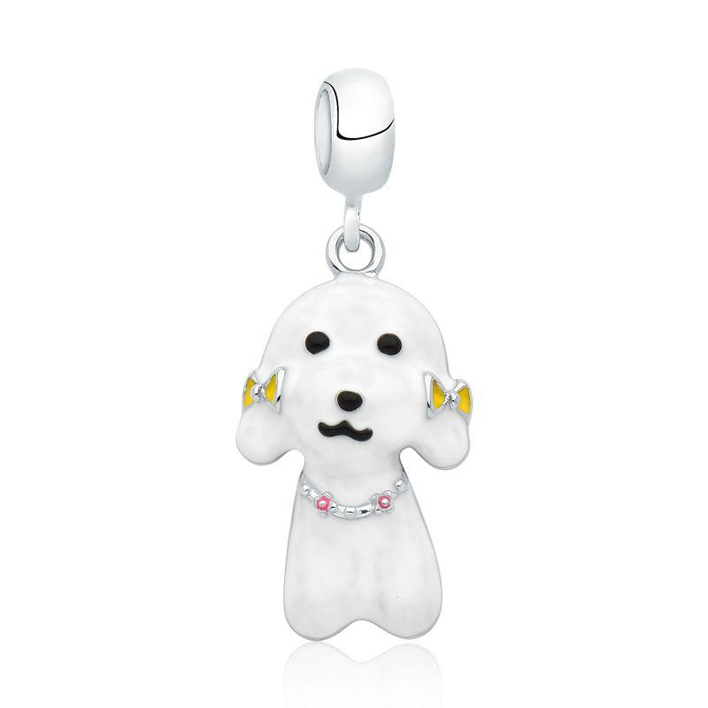 Berloque Cachorro Poodle