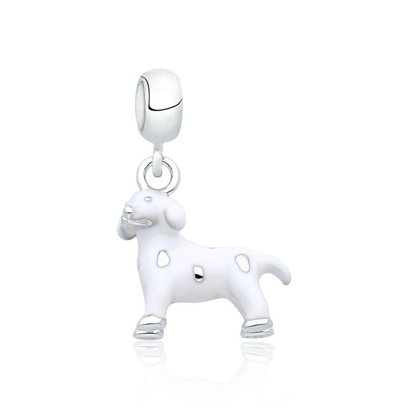 Berloque Cachorro Branco