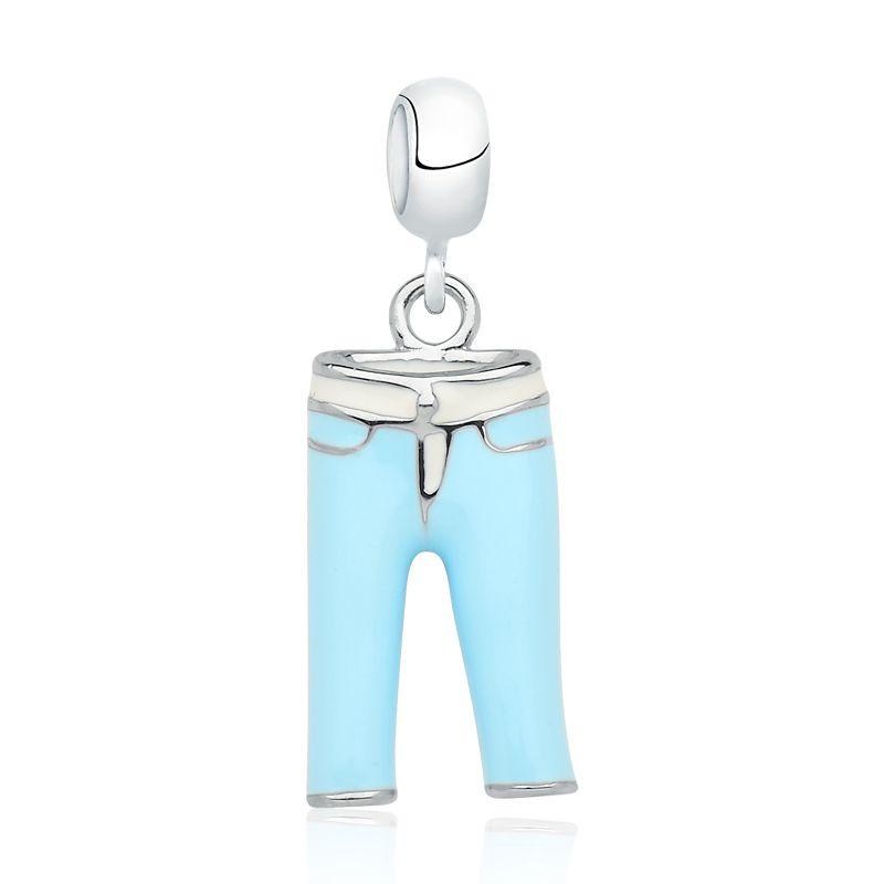 Berloque Calça Azul
