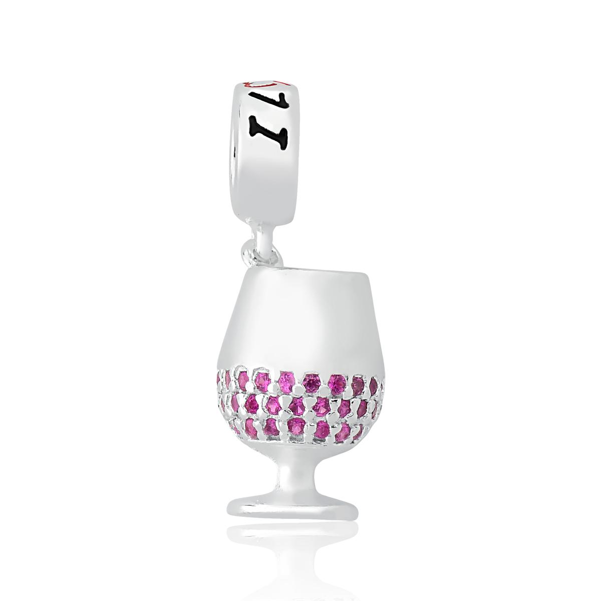 Berloque Cálice de Vinho