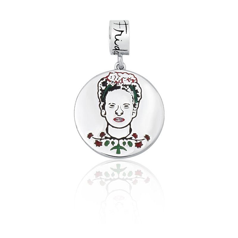 Berloque Medalha Frida Kahlo