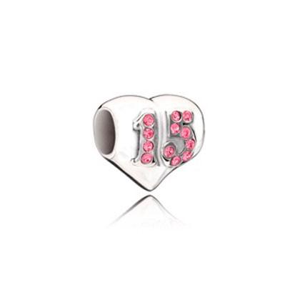 Berloque Coração 15 Anos