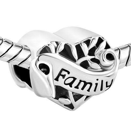 Berloque Coração Family