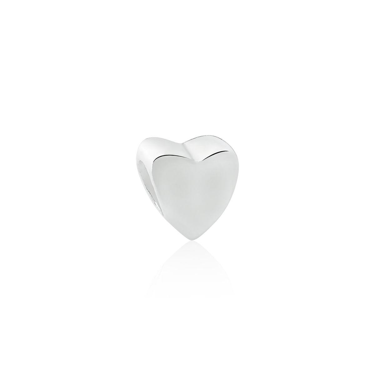 Berloque Coração Liso