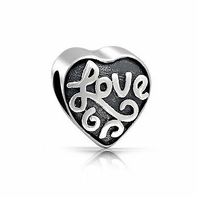 Berloque Coração Love