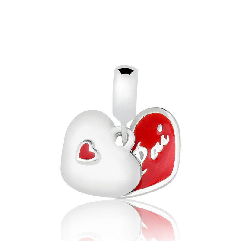 Berloque Coração Pai Dois Lados