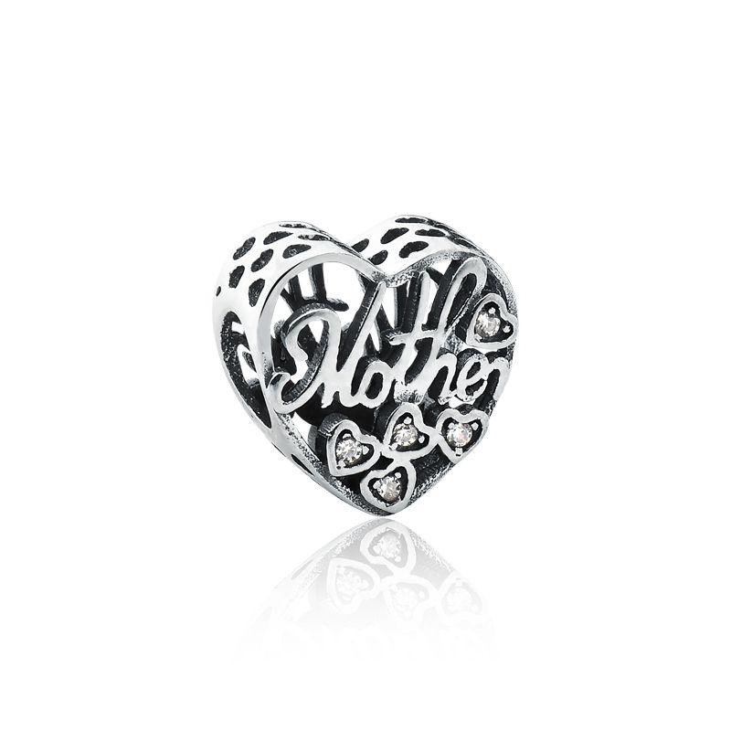 Berloque Coração Mãe - Mother