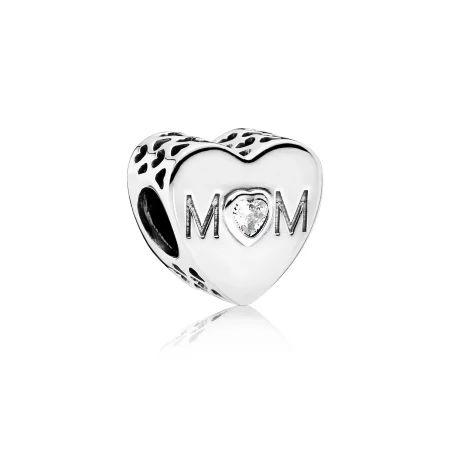 Berloque Coração Mom