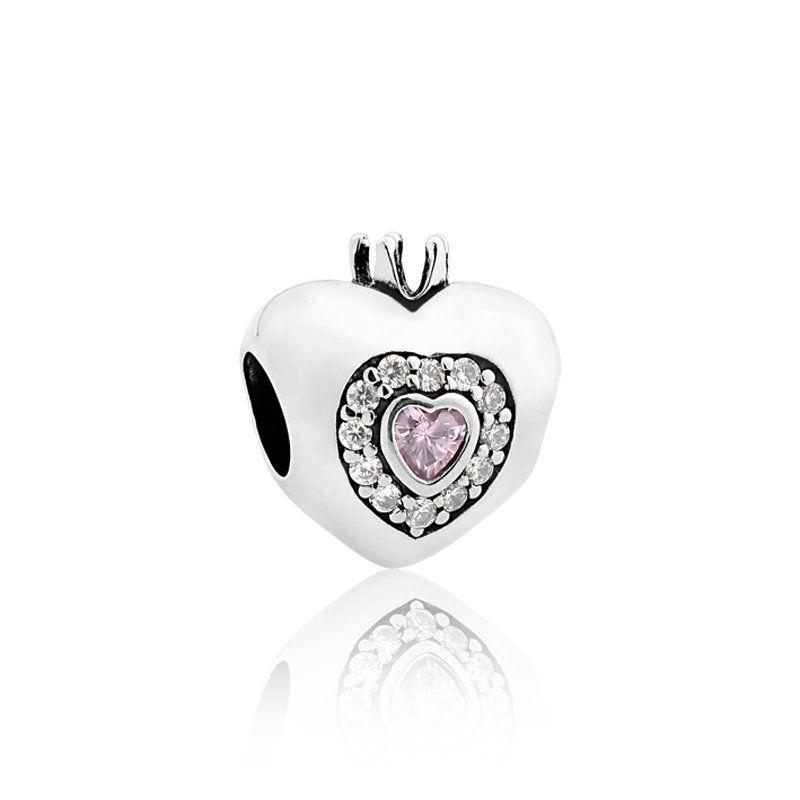 Berloque Coração Princess