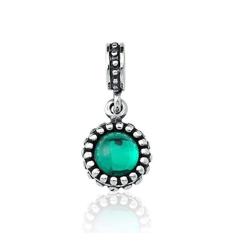 Berloque Cristal Verde