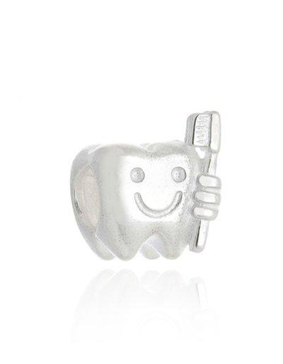 Berloque Dente Com Escova