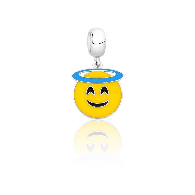 Berloque Emoji Anjo