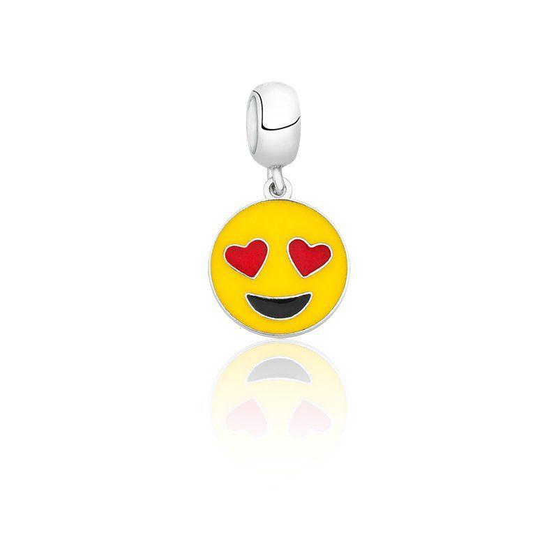 Berloque Emoji Apaixonado