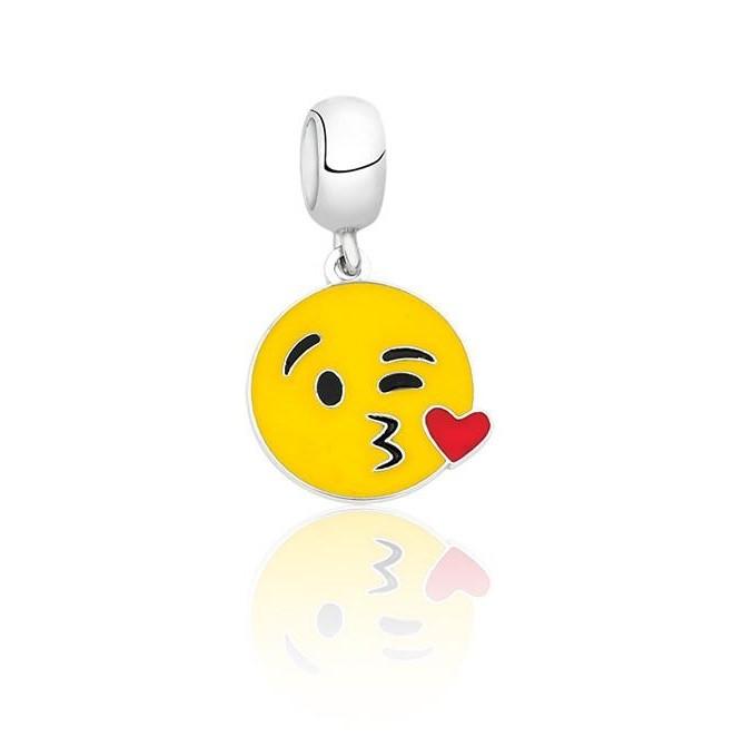 Berloque Emoji Beijo